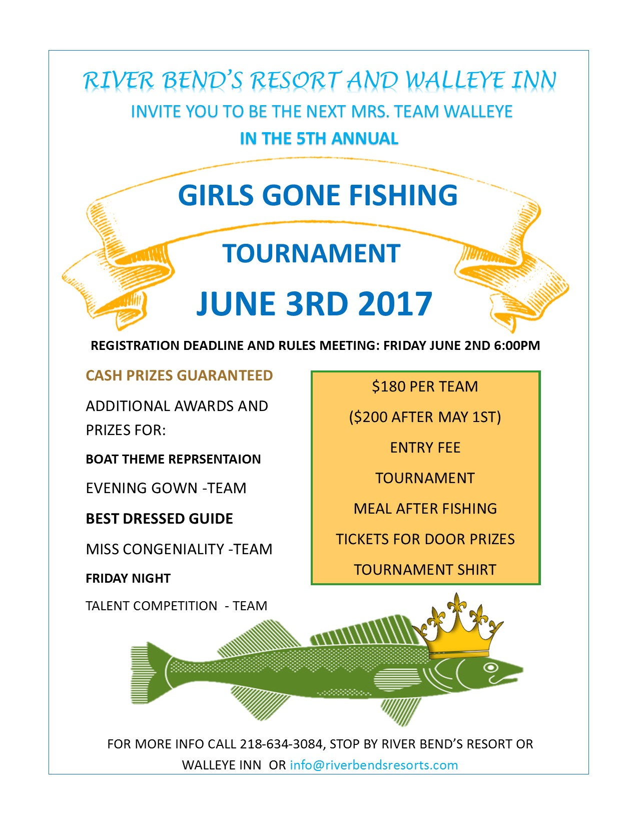 2017 girls gone fishing tournament on lake of the woods for Fishing tournaments 2017