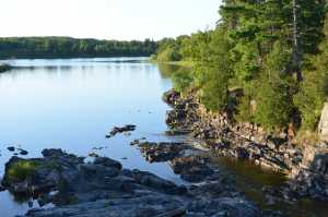 Clementson Rapids, Rainy River, Lake of the Woods
