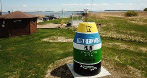 Norhernmost Point Buoy